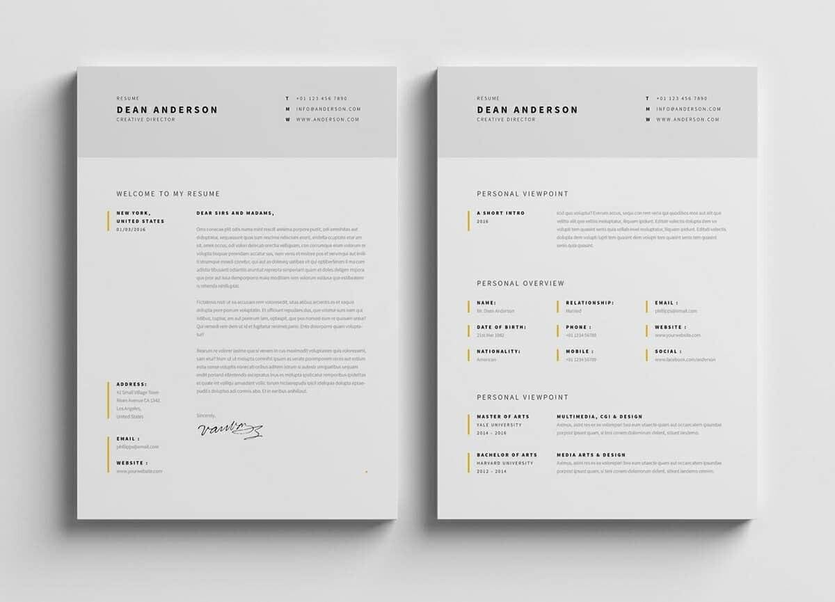 Resume Designs Templates