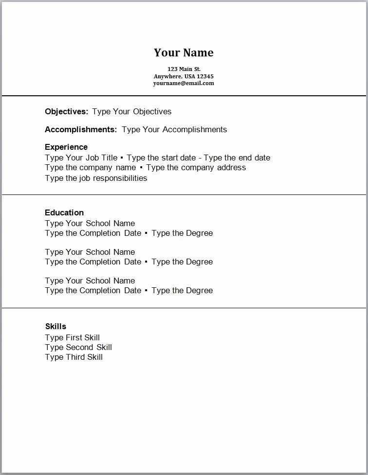 Resume For Recent College Graduate Sample