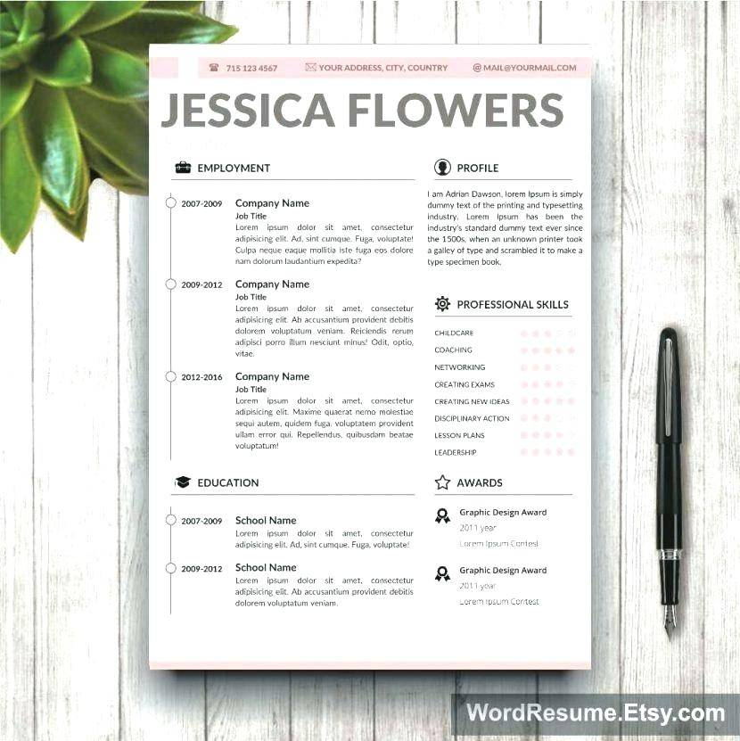 Resume Portfolio Template WordPress
