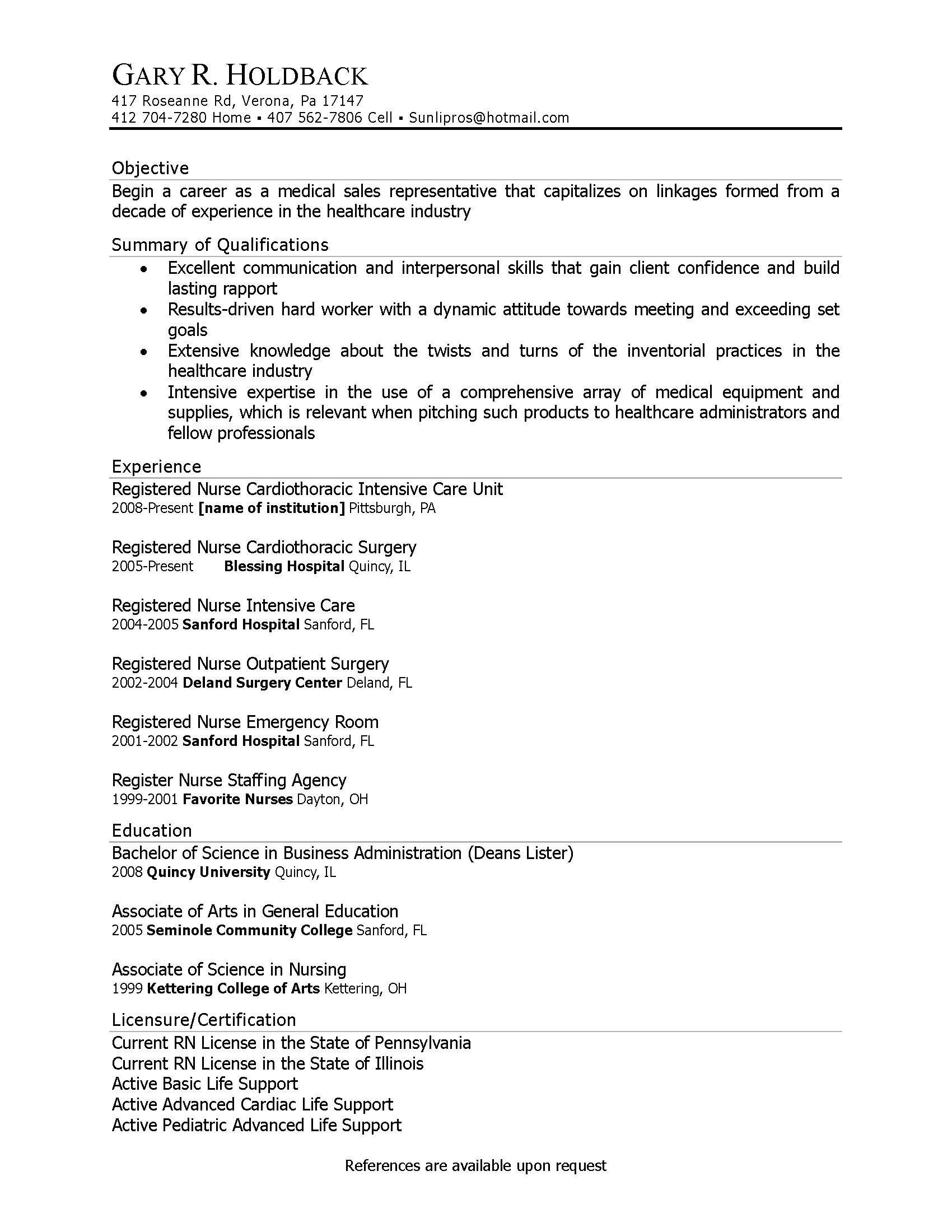Resume Profile Examples Career Change