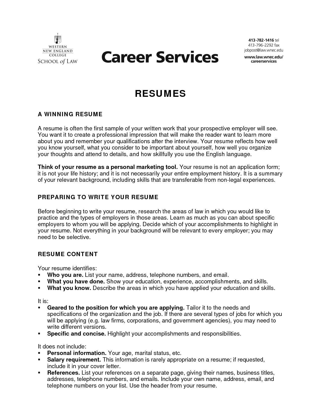 Resume Template For Cna Position