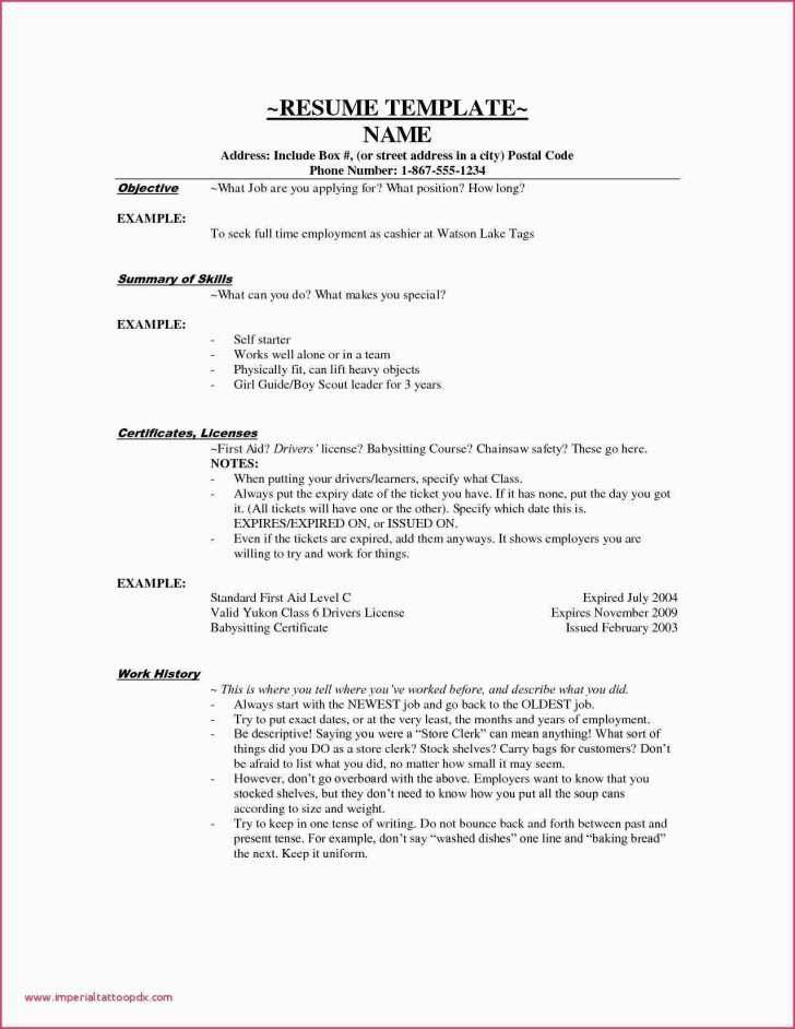 Resume Template For Sales Lady