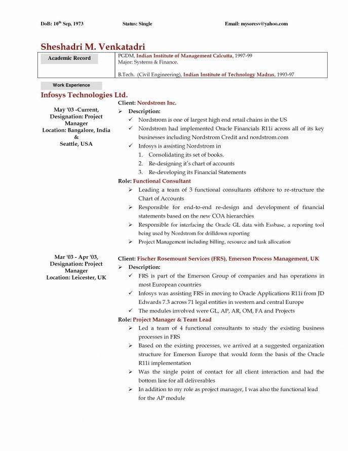 Resume Template Using Word 2007