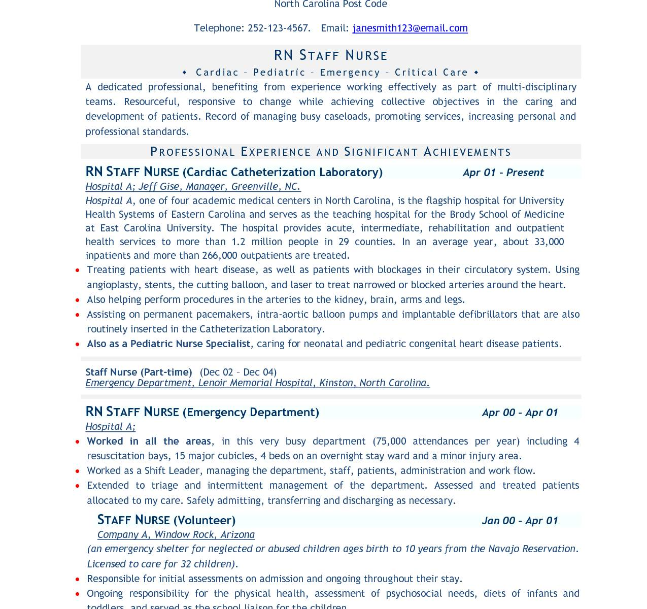 Resume Templates For Freshers Mca