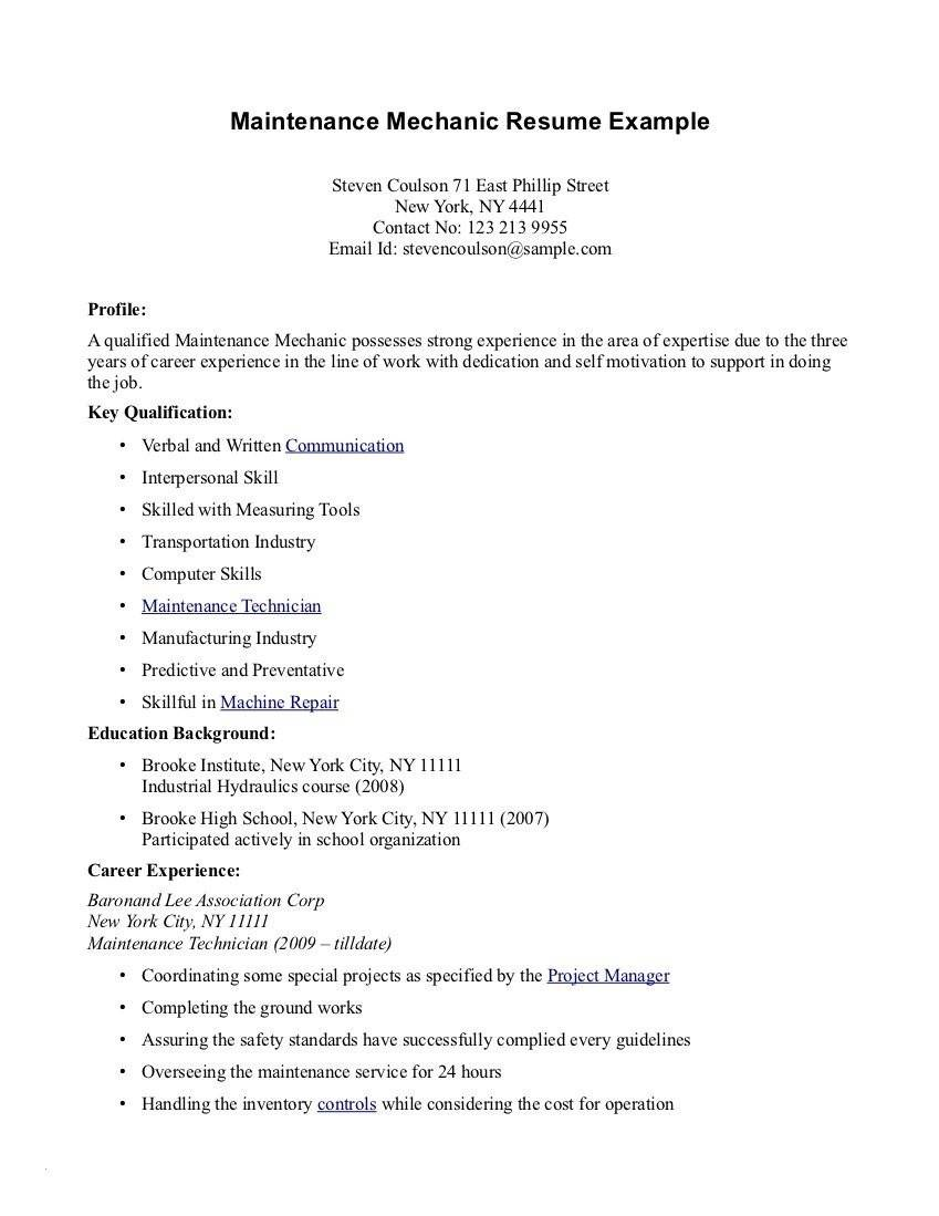 Resume Templates For Highschool Graduates With No Experience
