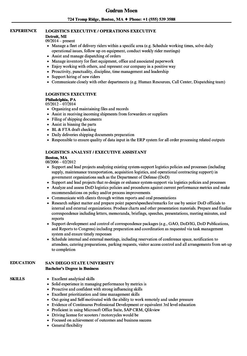 Resume Templates For Hr Executives