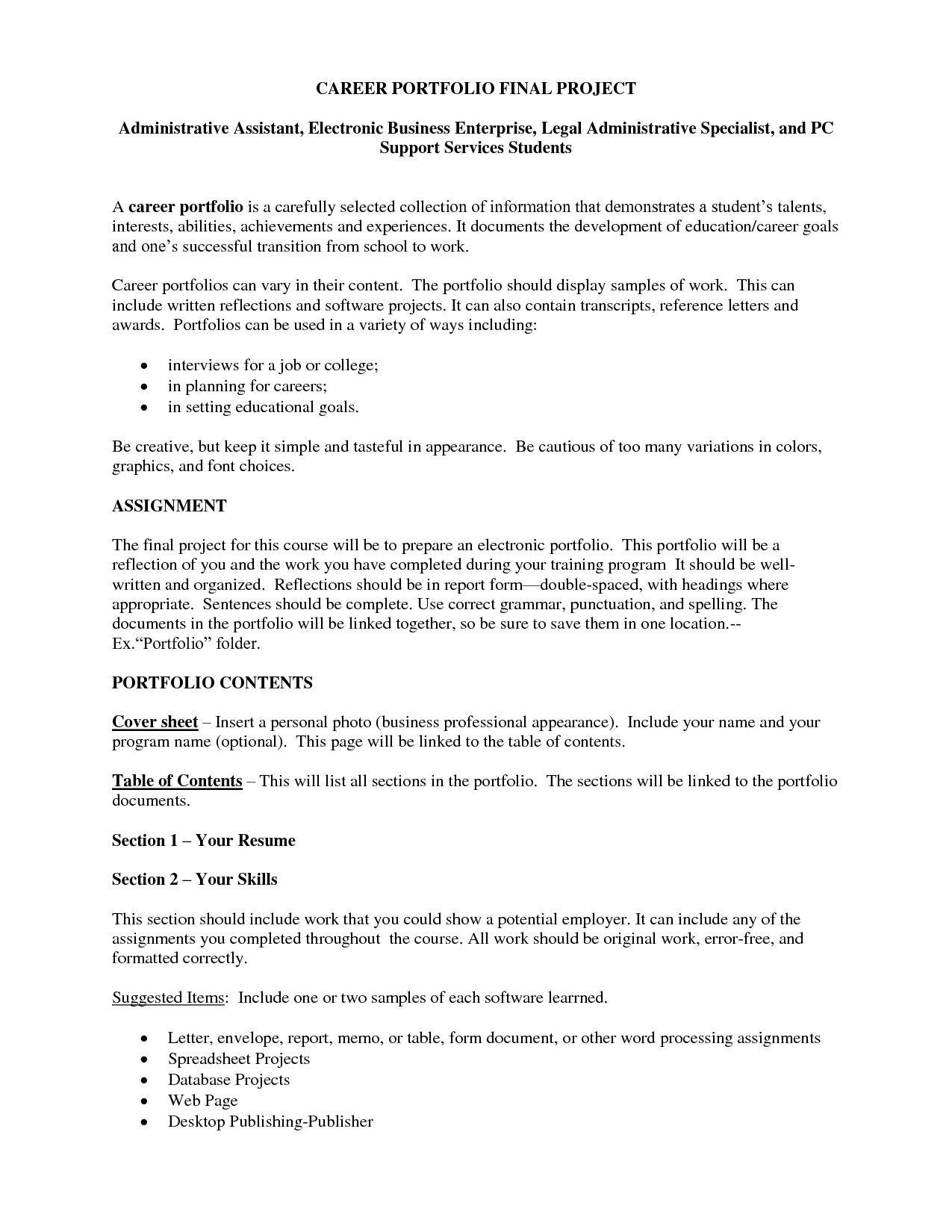 Resume Templates Word Administrative Assistant