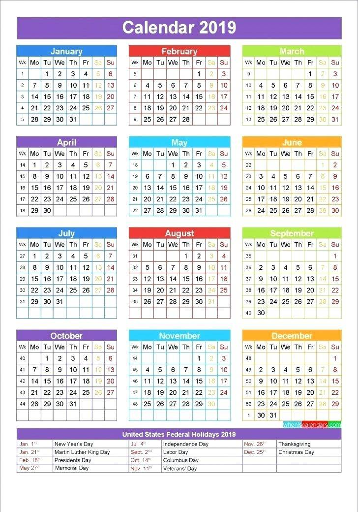 Retail Promotional Calendar Template