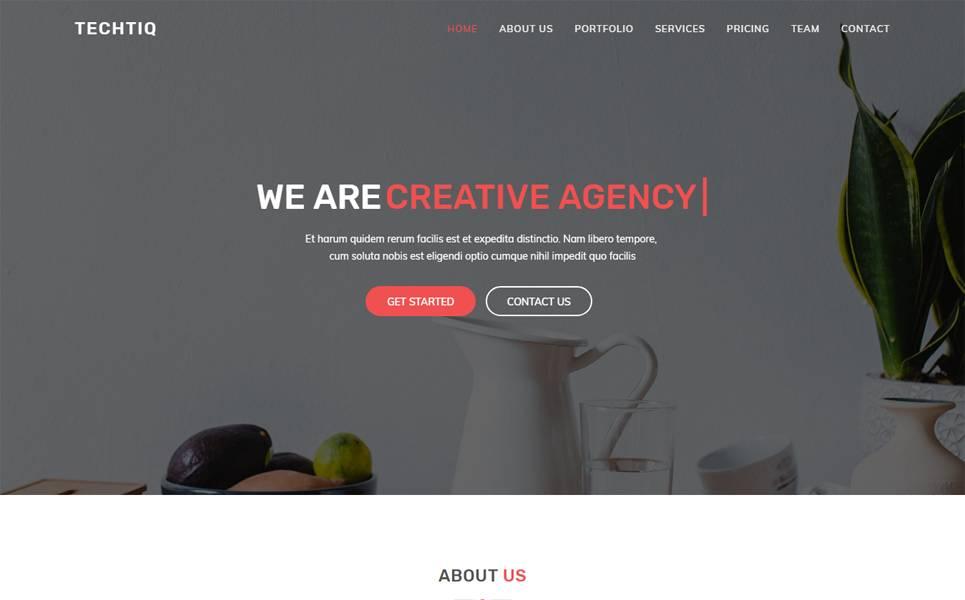 Retina Ready Website Templates