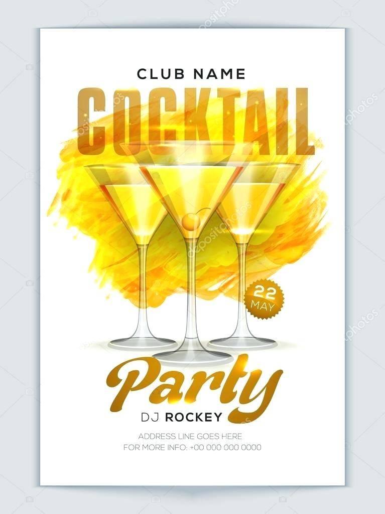 Retro Cocktail Party Invitation Templates