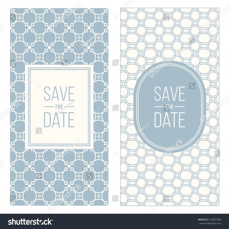 Retro Wedding Invitation Templates
