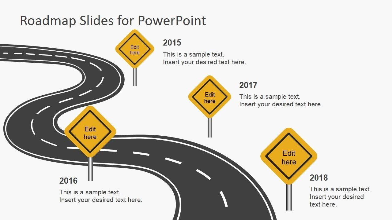 Roadmap Ppt Template Free