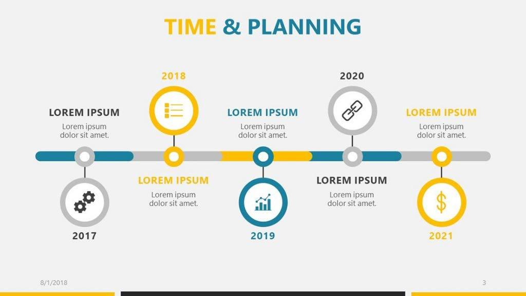 Roadmap Template Powerpoint Microsoft