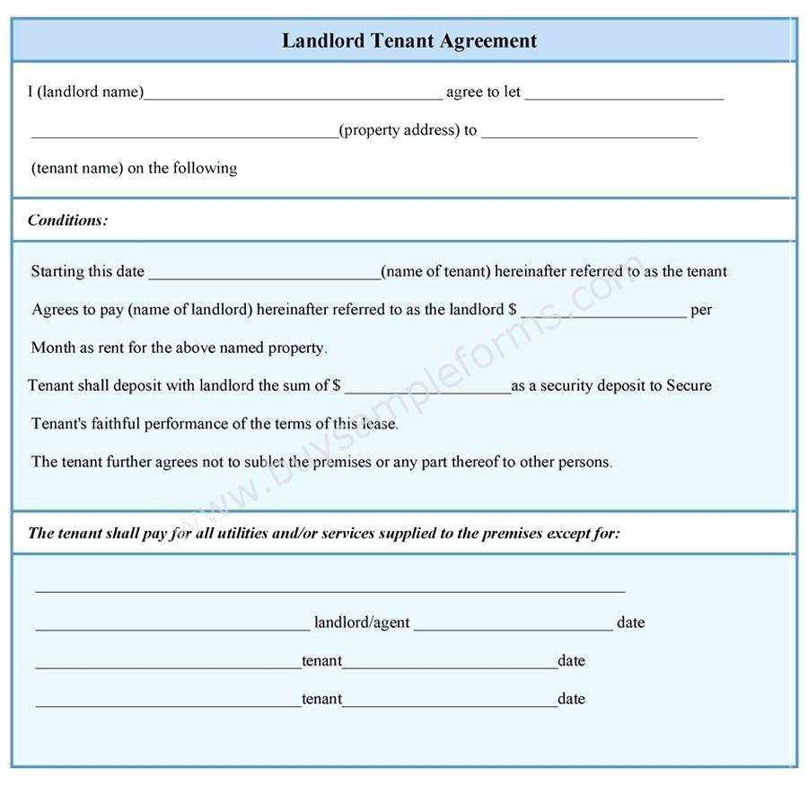 Room Rental Agreement Template Ontario