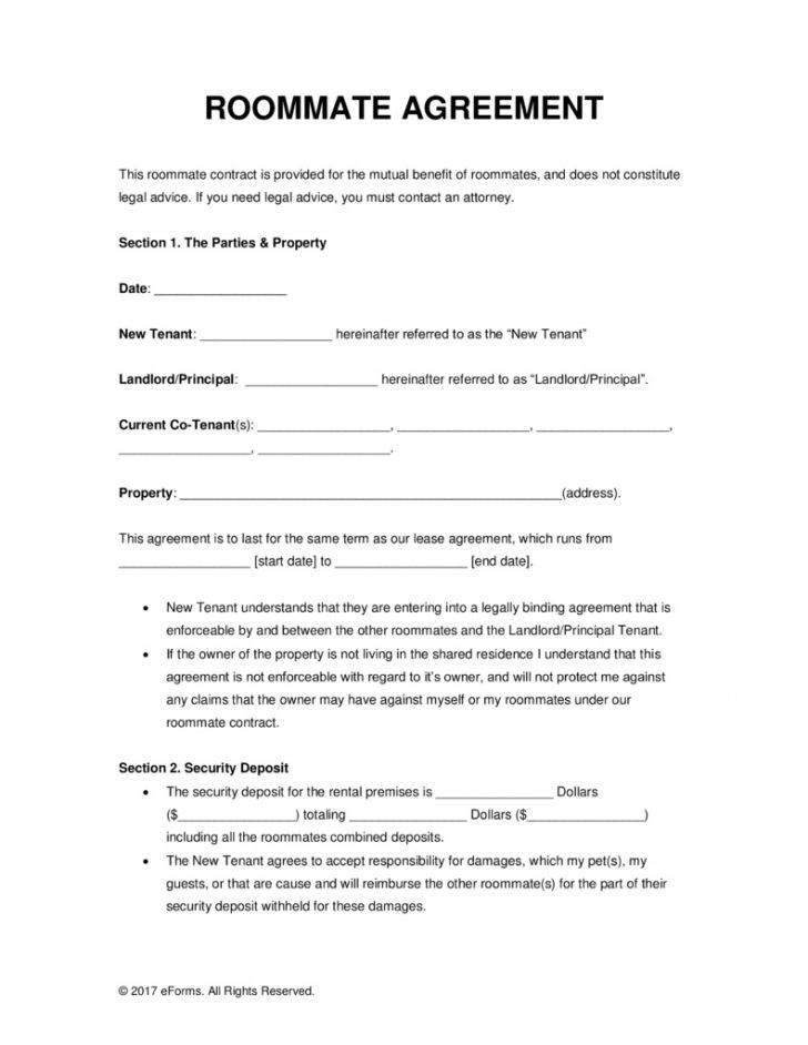 Room Rental Lease Agreements