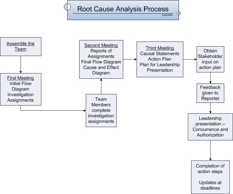 Root Cause Analysis Sample Format