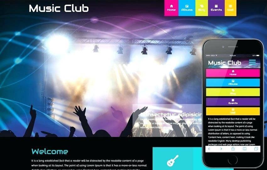 Rotary Club Website Template