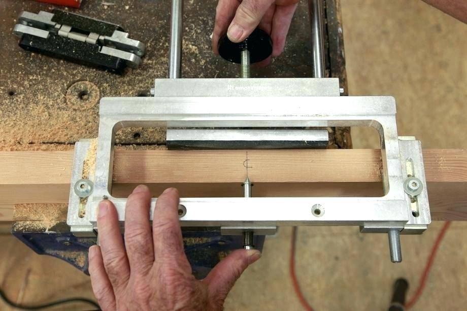 Router Hinge Template