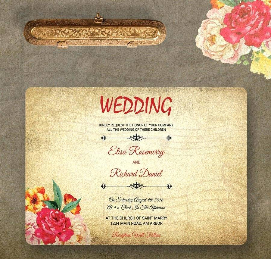 Royal Wedding Invitation Template Ks2