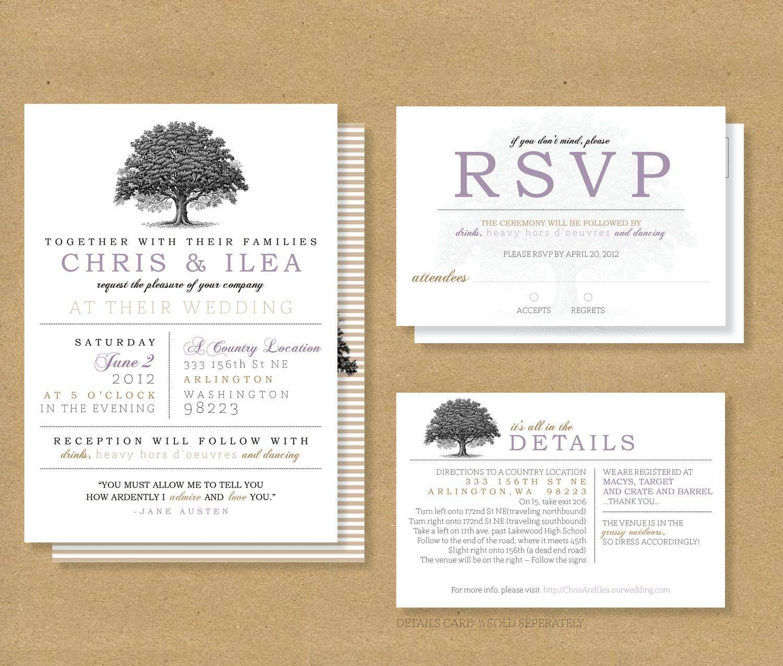 Rsvp Invitation Samples