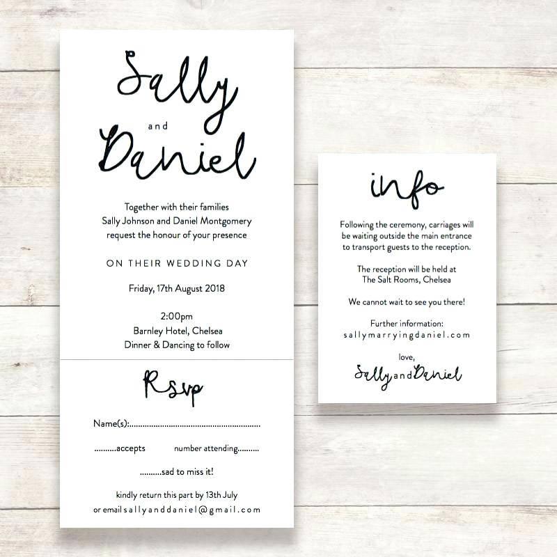 Rsvp Templates For Wedding Invites