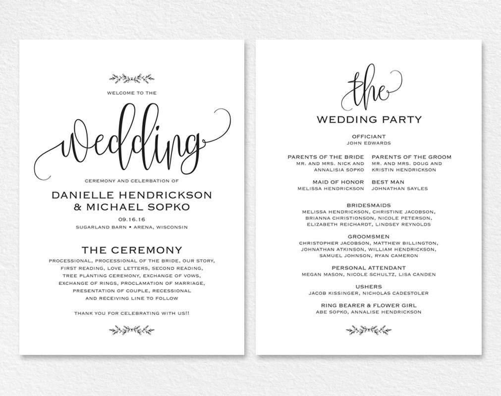 Rustic Wedding Invitation Wording Templates