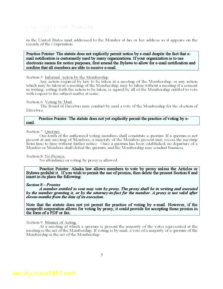 S Corporation Articles Of Incorporation Template