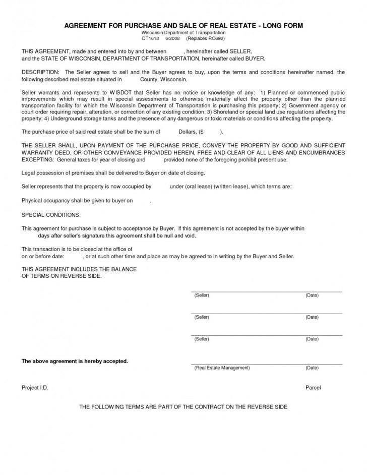 Sale Agreement Template Free