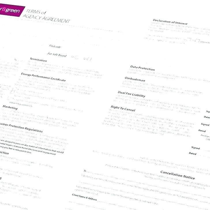 Sales Agent Agreement Template Free