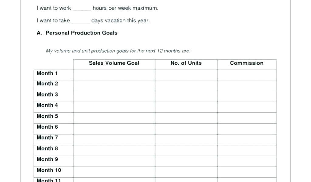 Sales Commission Plan Template Excel