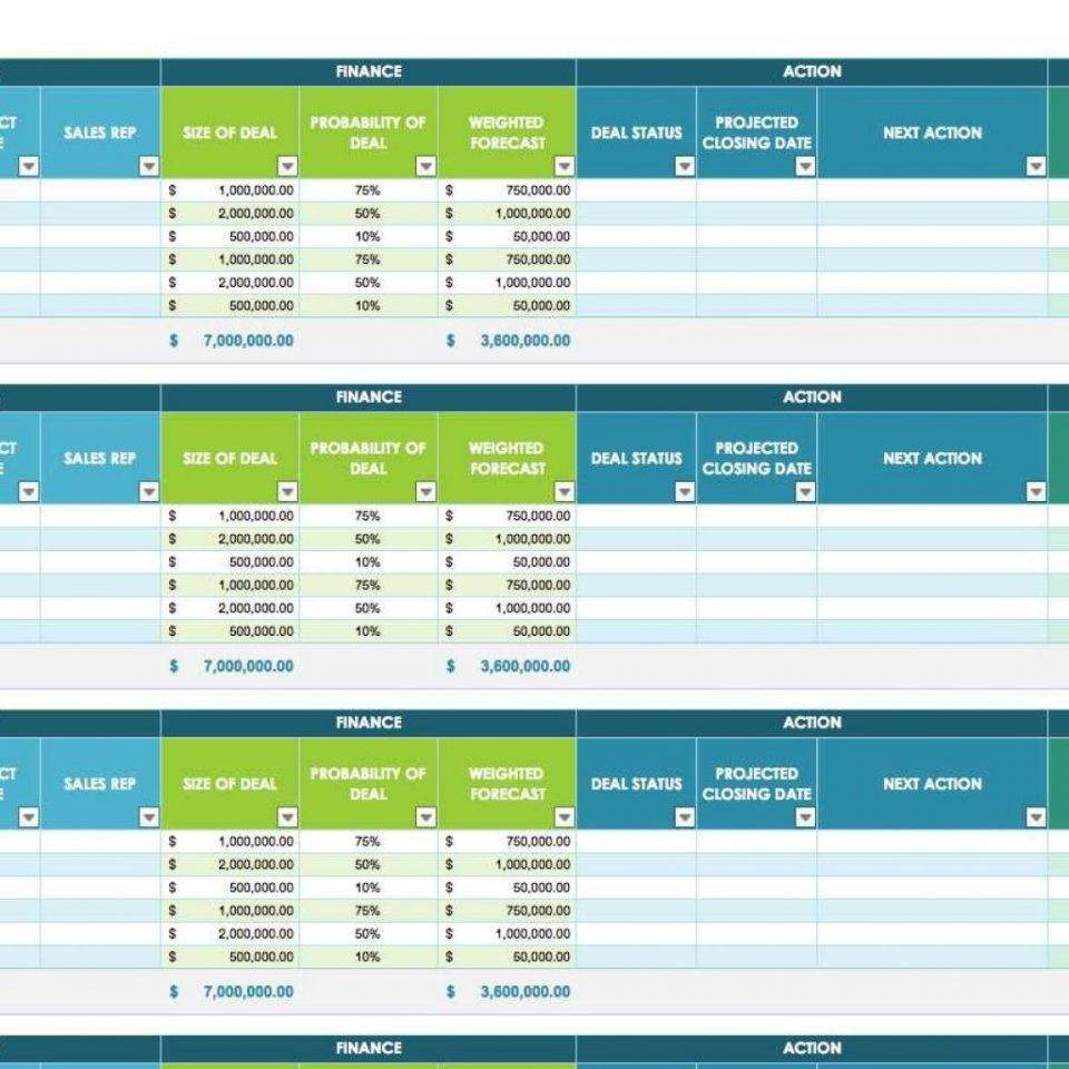 Sales Funnel Templates Excel