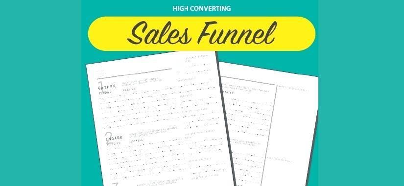 Sales Funnel Website Template