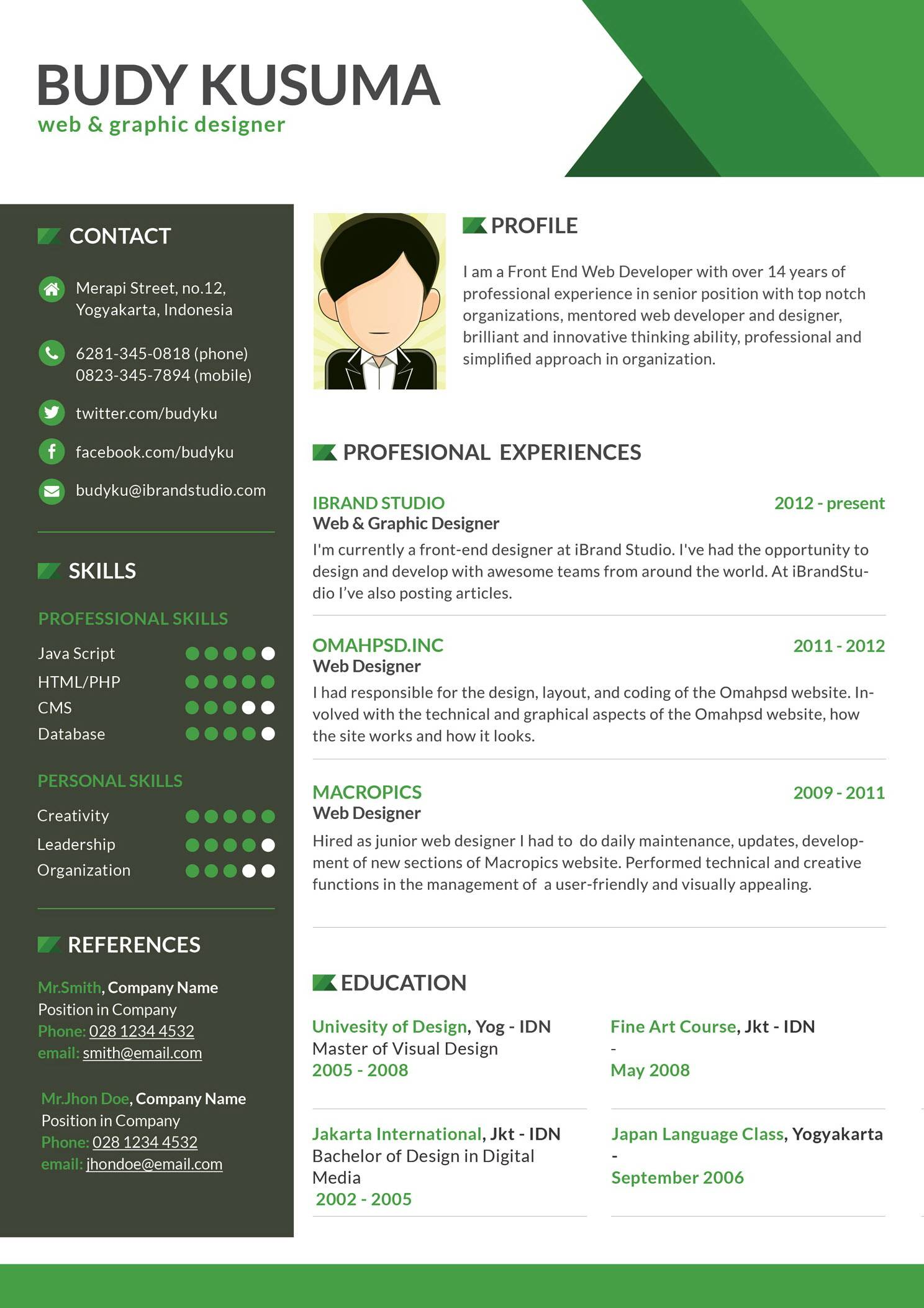 Sales Manager Cv Template Free