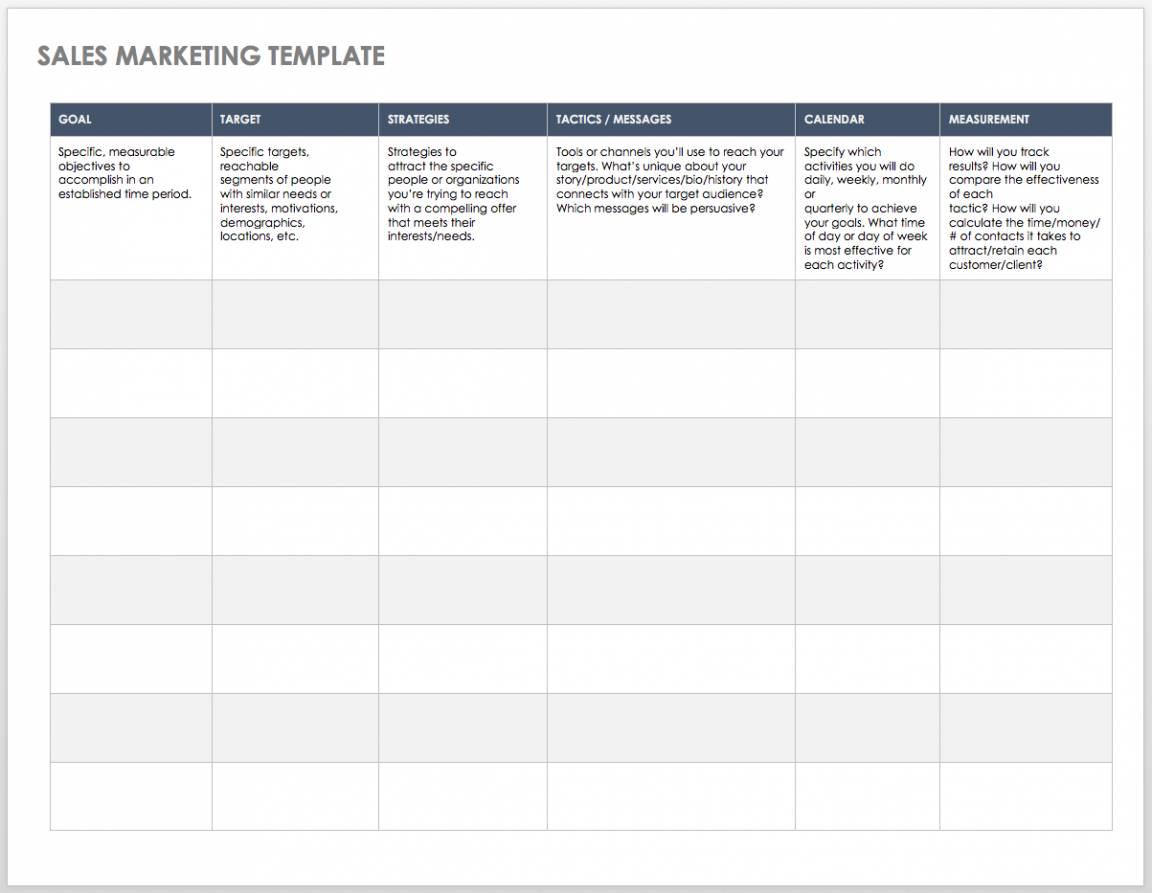 Sales Pipeline Templates Excel