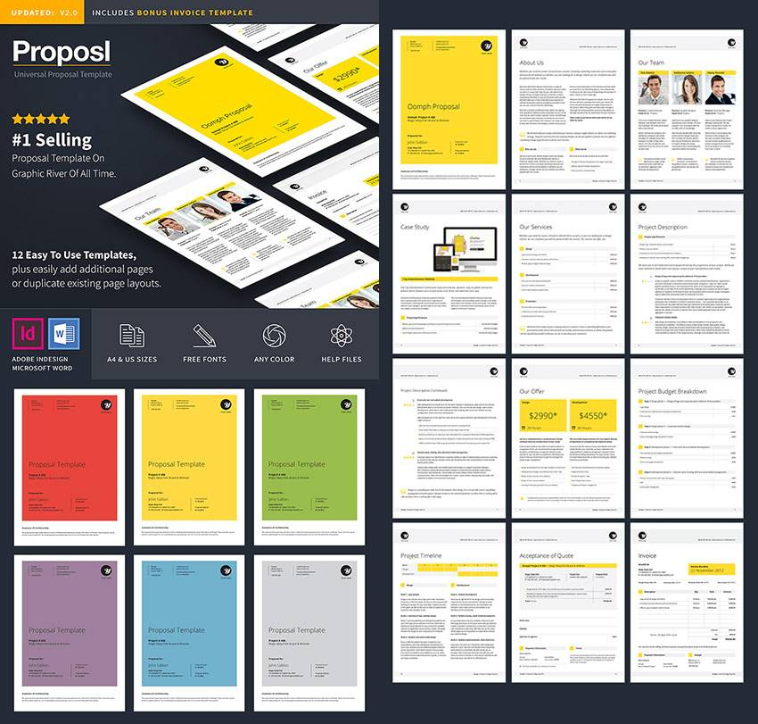 Sales Proposal Templates Word