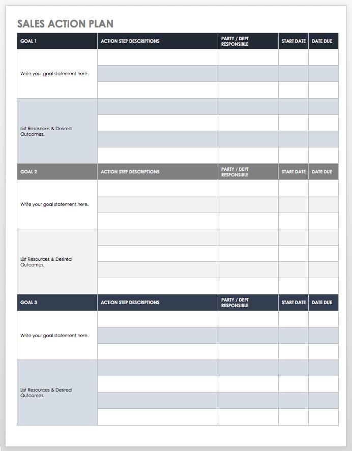 Sales Prospect File Template