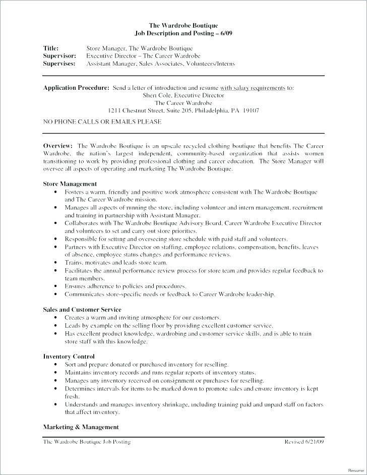 Sales Rep Job Description Template