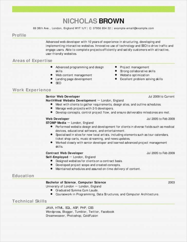 Sales Resume Templates Word