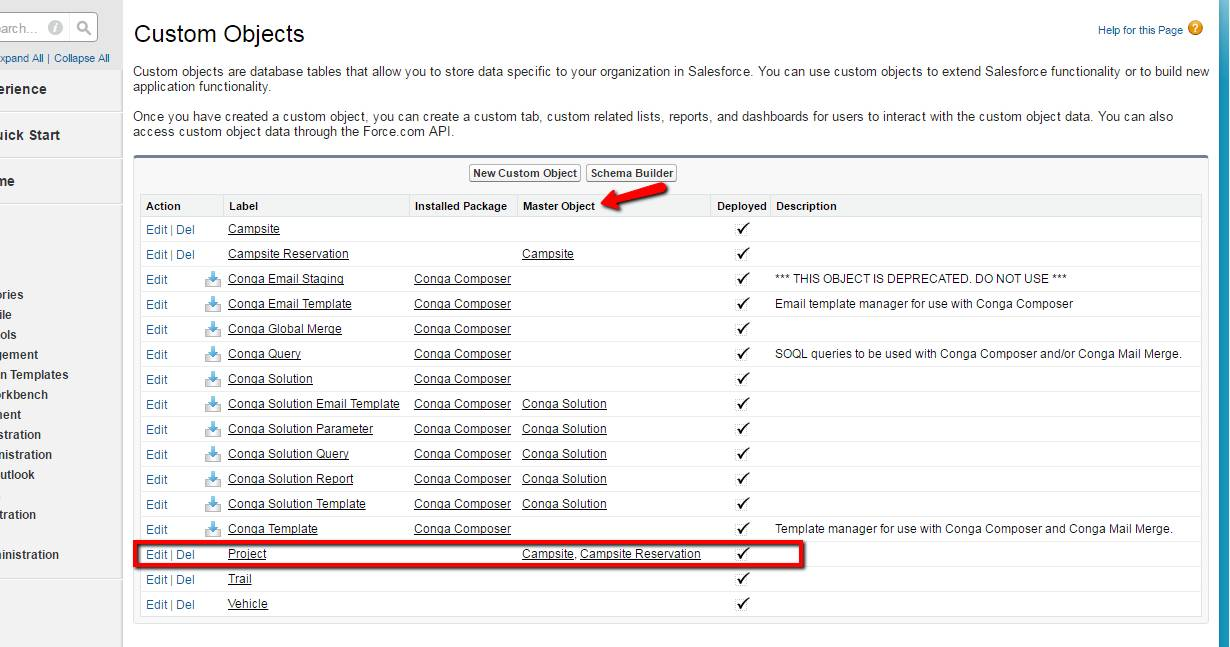 Salesforce Email Templates Custom Objects