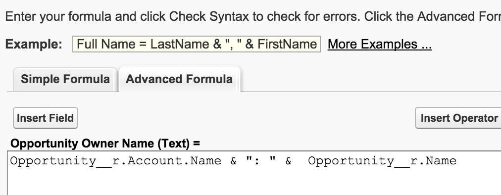 Salesforce Email Templates Formulas