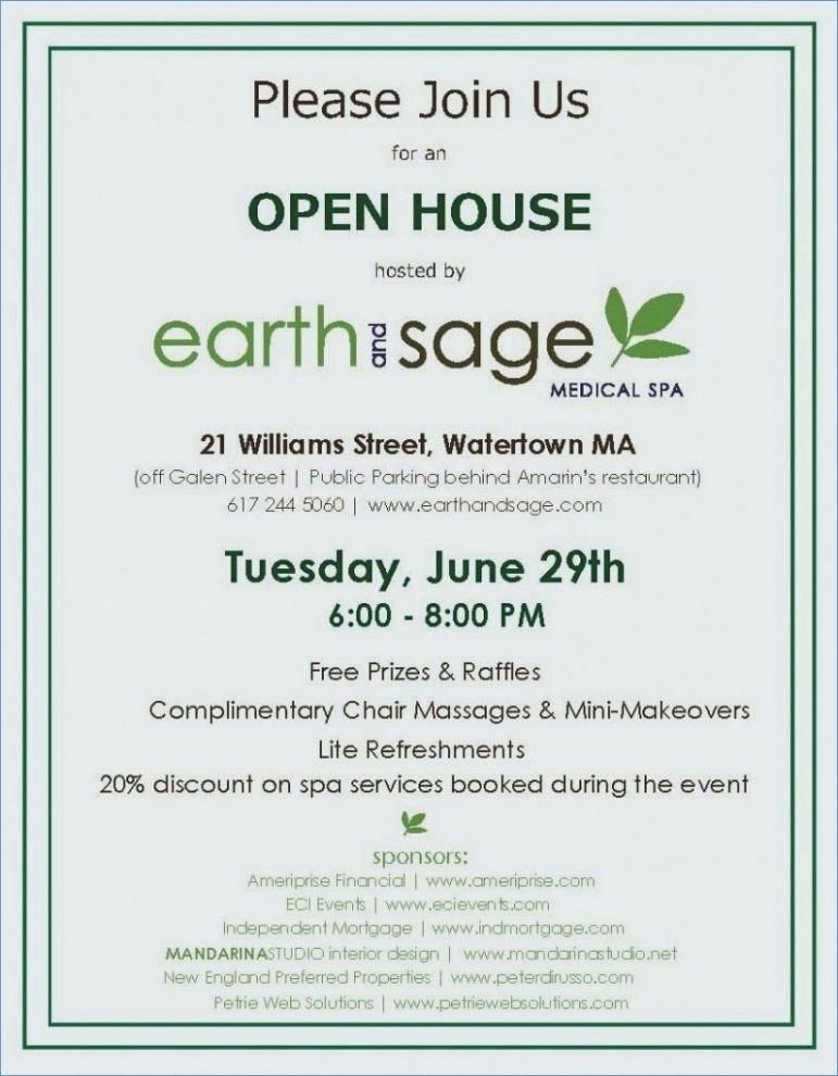 Sample Business Open House Invitation Wording