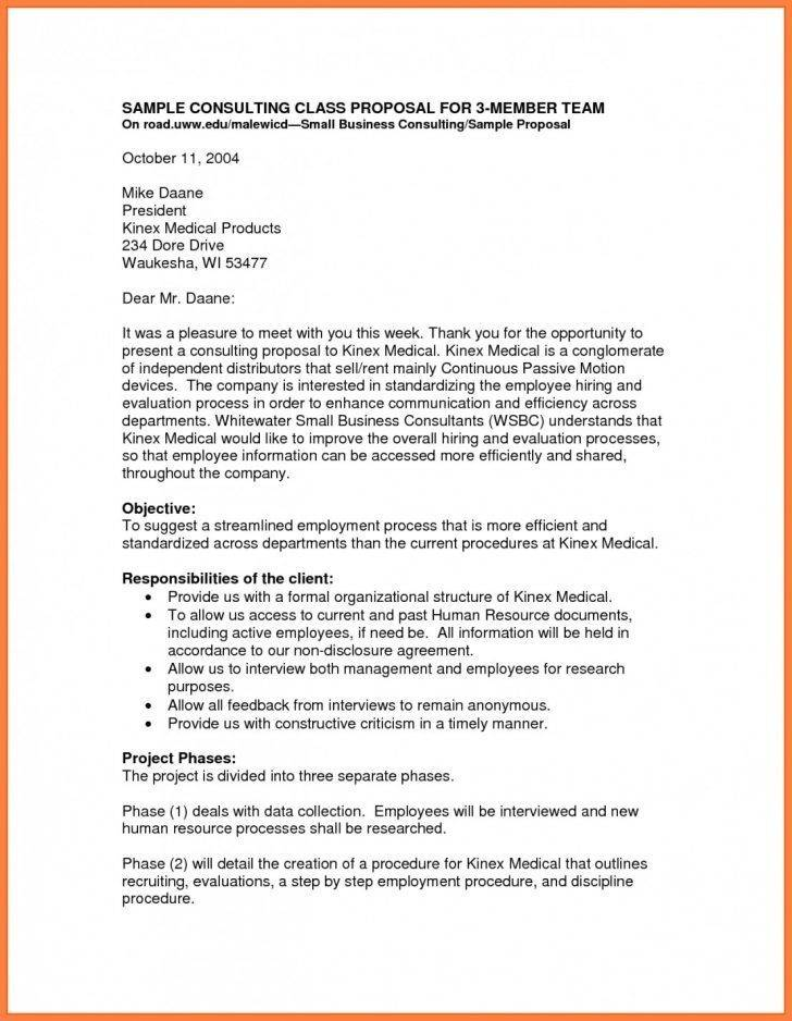 Sample Business Partnership Proposal Template