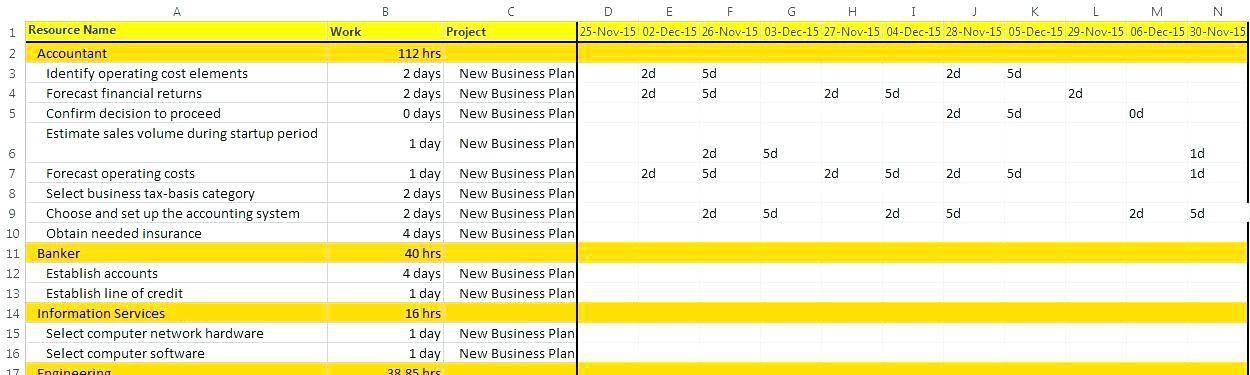 Sample Capacity Plan Template
