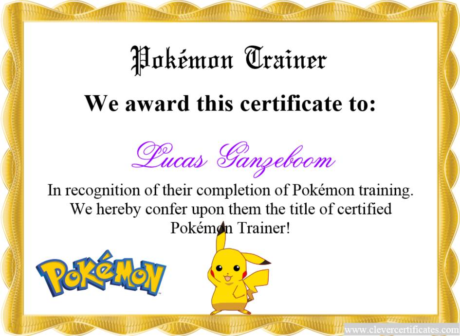 Sample Certificate Of Appreciation For Trainers