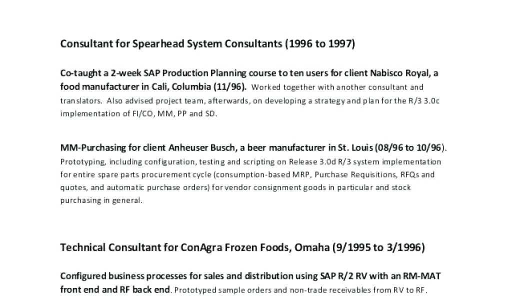 Sample Consulting Proposal Templates
