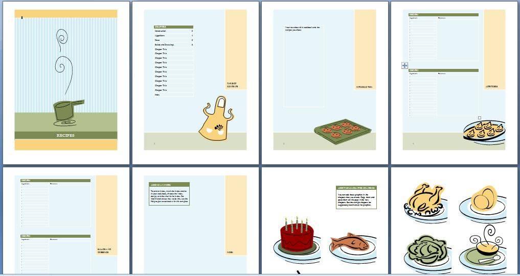 Sample Cookbook Template