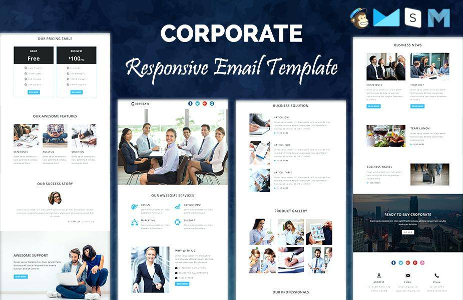 Sample Corporate Newsletter Templates