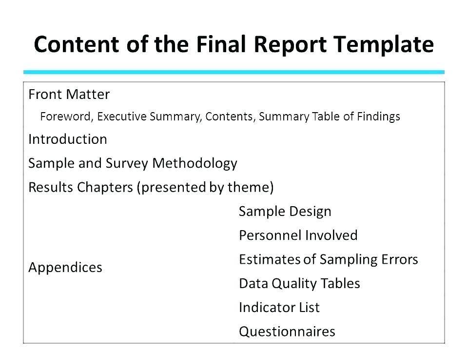 Sample Customer Satisfaction Survey Report