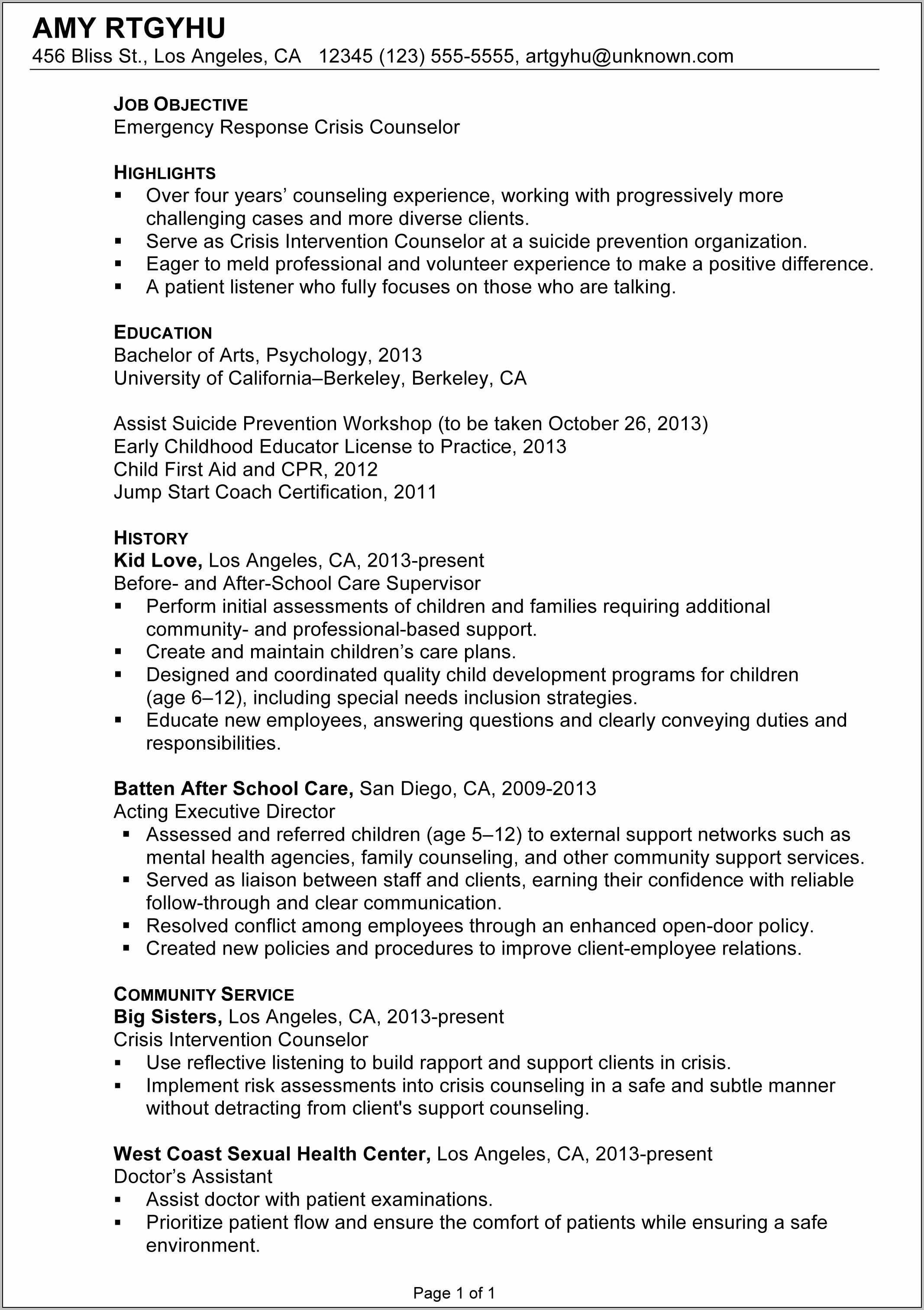 Sample Employee Handbook For Child Care Center