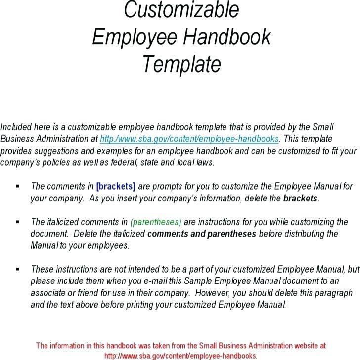 Sample Employee Handbook Malaysia